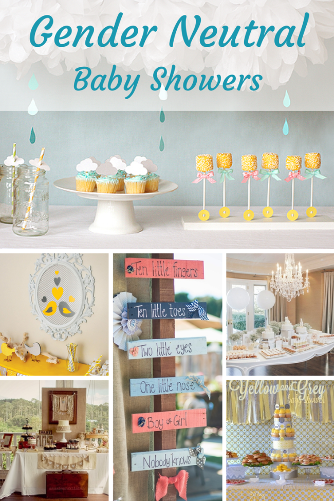 unique gender neutral baby shower ideas design dazzle