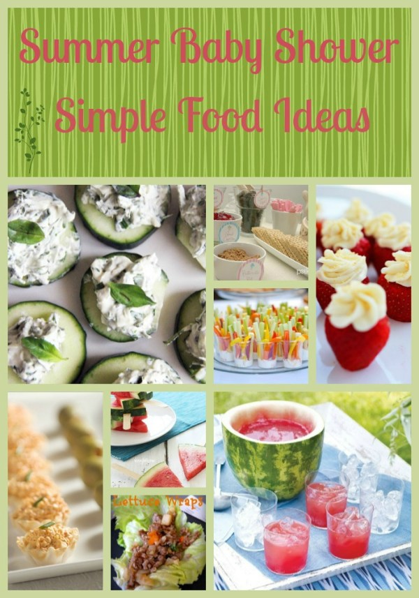 baby shower food ideas design dazzle