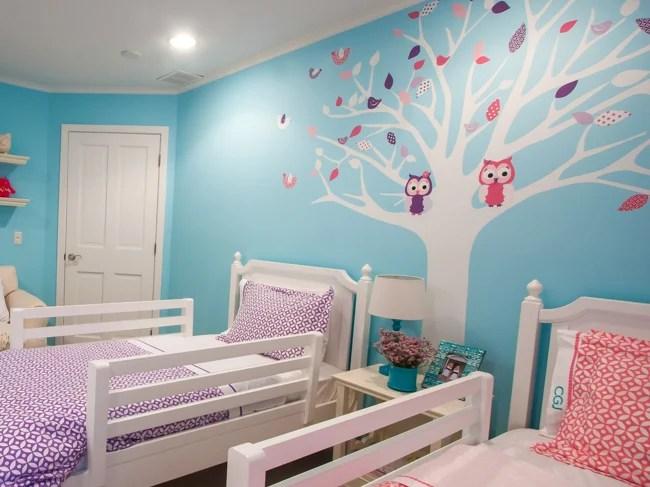 Cute Wallpapers Fall Seasonal Twin Girls Room Design Dazzle