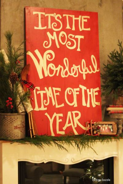 Merry Christmas: It's The Most Wonderful Time of The Year Home Tour - Design Dazzle