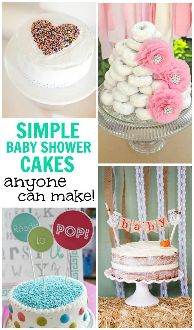 super simple baby shower cakes anyone cake make to celebrate the