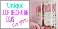 Decorating Door Ideas for Girls - Design Dazzle