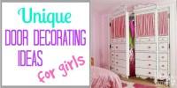 Decorating Door Ideas for Girls - Design Dazzle