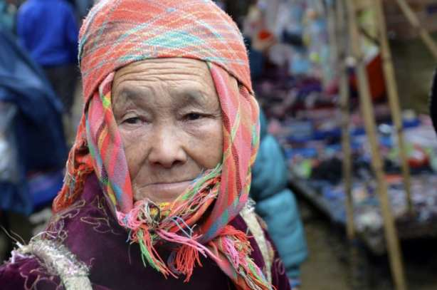 At the market, Vietnam