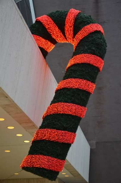 Candy Canes on 57th Street