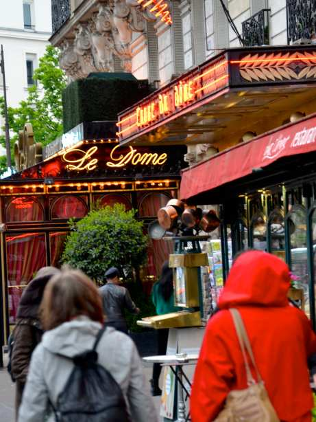 Le Dome--another famous cafe from the 1920s