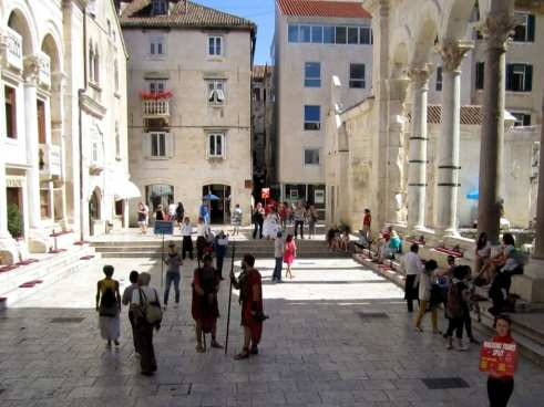 Historic Courtyard in Center of Split