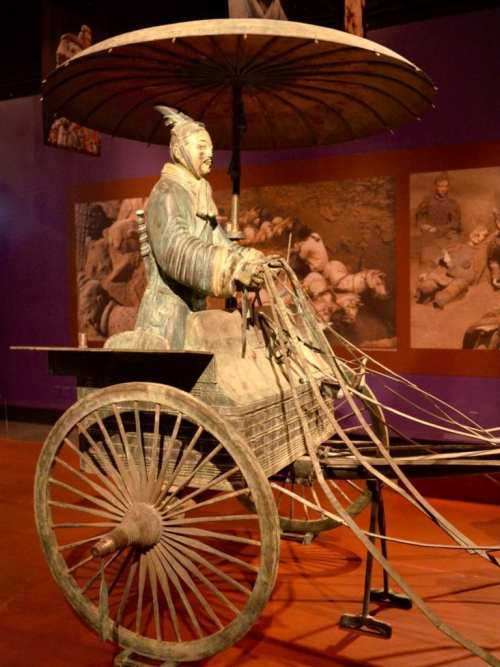 Terra Cotta Warriors Exhibit at Field Museum, Chicago
