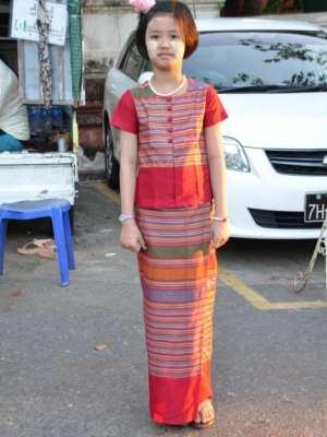 longyi in Myanmar