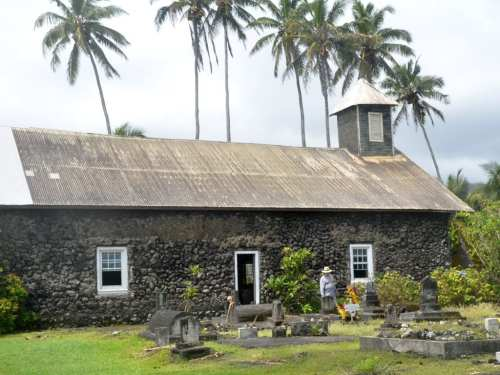 Historic Church still in use on the Road to Hana