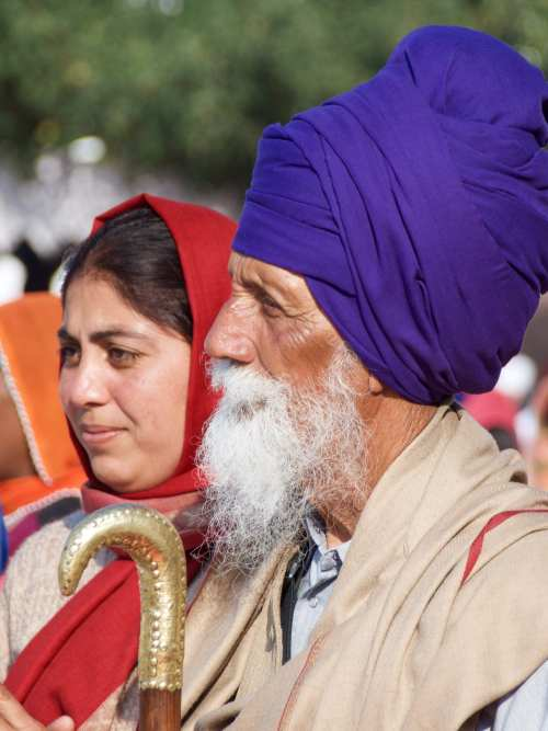 Sikh's at the Golden Temple