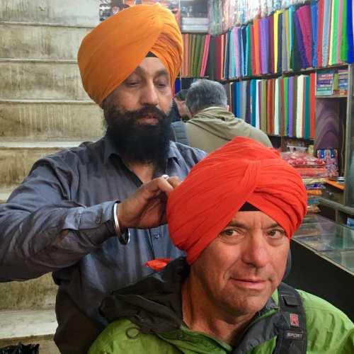 Turban Tying in Amritsar