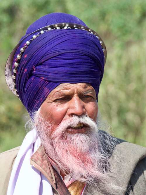 Nihang Turban at Hola Mohalla