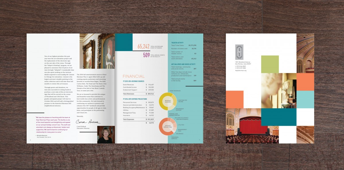 The Design Group Creative Graphic Design Solutions - reports designs