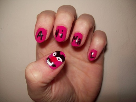 Animals Nail Art Ivoiregion