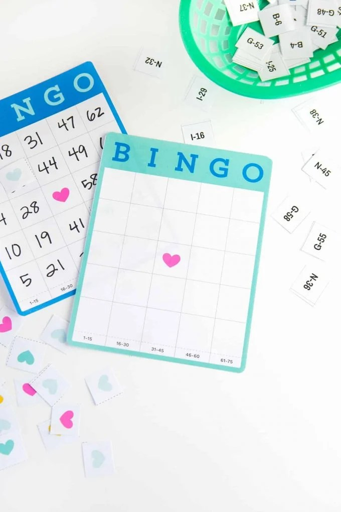 Free Printable Blank Bingo Cards - Design Eat Repeat
