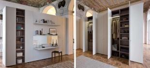 Armadio easy bifacciale progettazione interni roma