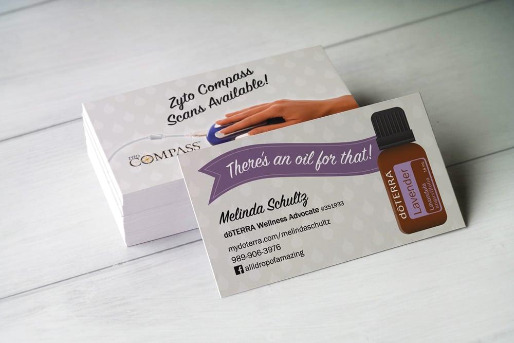 doterra-consultant-business-card Boutique Web Design Blog