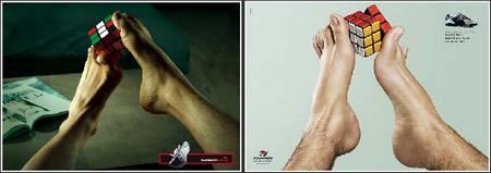 advertising plagiarism