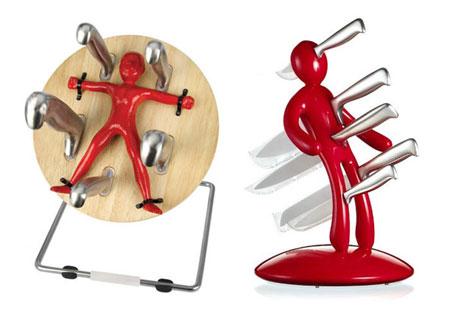 hanging knives