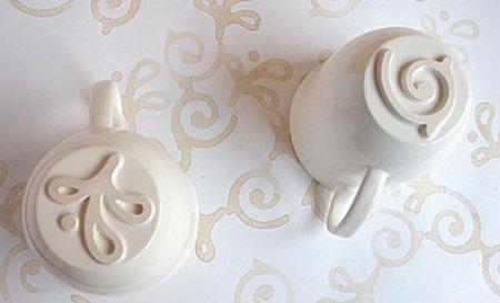 stamp mugs