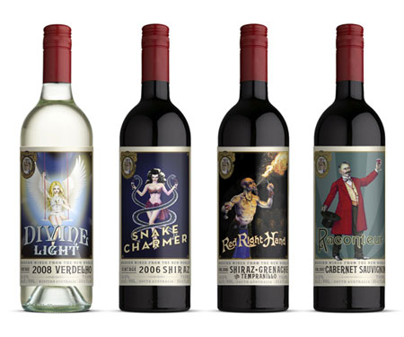 vinaceous wine packaging