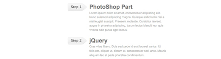 jquery sequential list