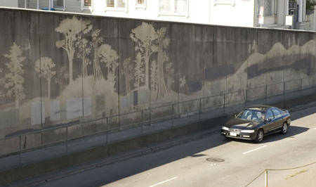 Reverse Graffiti fro Clorox 2