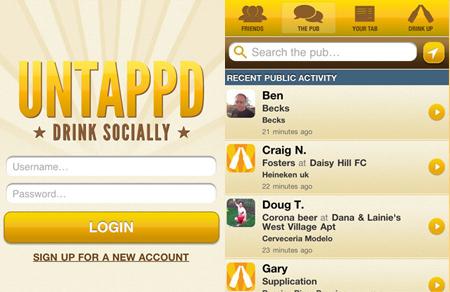 Untappd Mobile Site