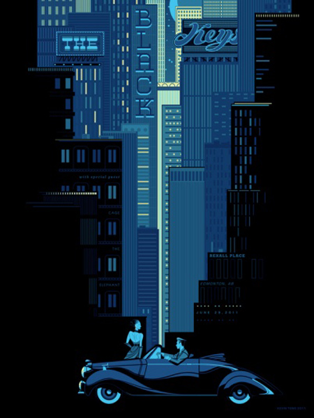 Black-Keys-Edmonton-BLUE_-_Poster
