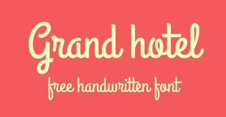 grand-hotel-free-font