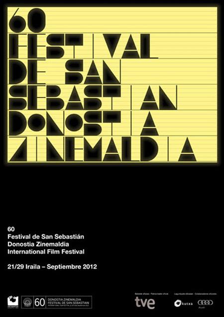 Typographic-Poster-Design-by-Roseta-y-Oihana-for-Festival-de-San-Sebastián-235352