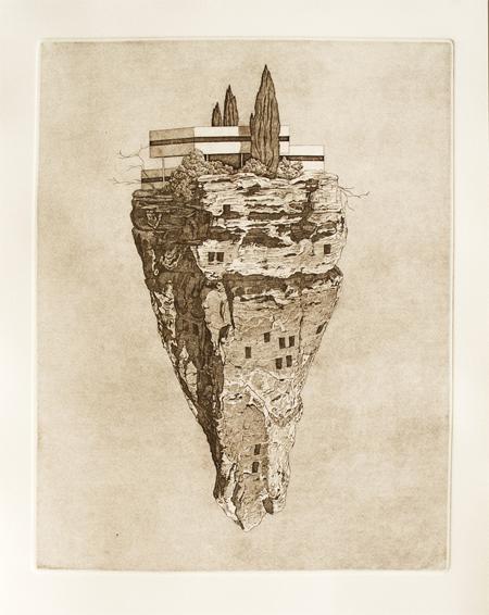 Precipice-14x18-inches-2012