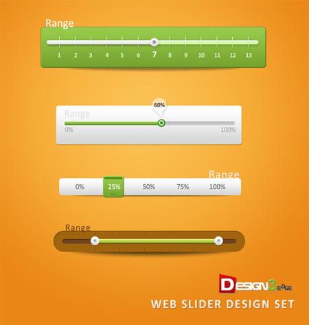 Web-Slider-Design-Set