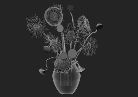 3d-sunflowers-2