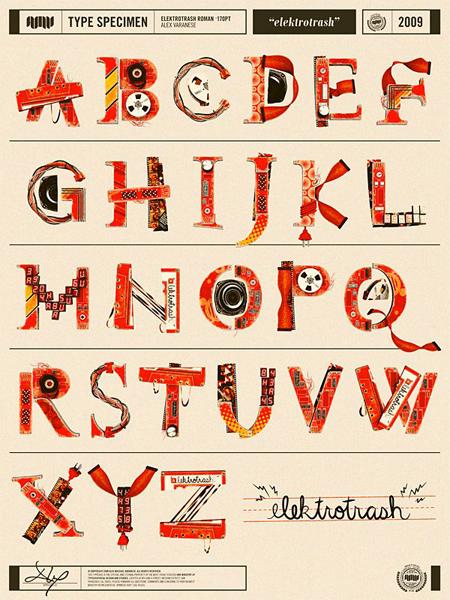 elektrotrash-alphabet