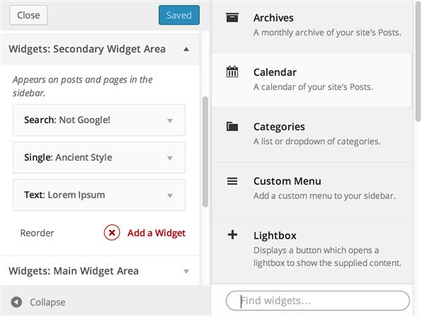 widget-actions