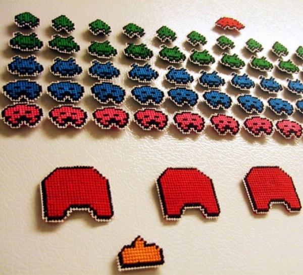 Tetris Fridge Madgets