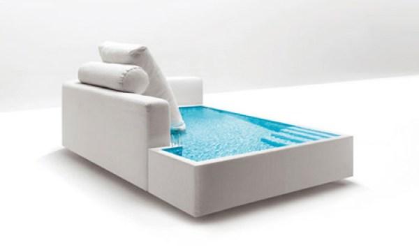 pool sofa