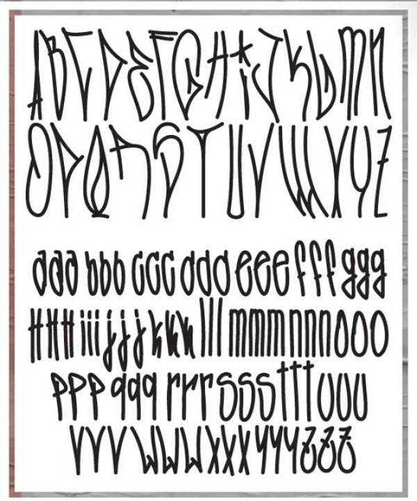 Fozzie Got A Posse Typeface