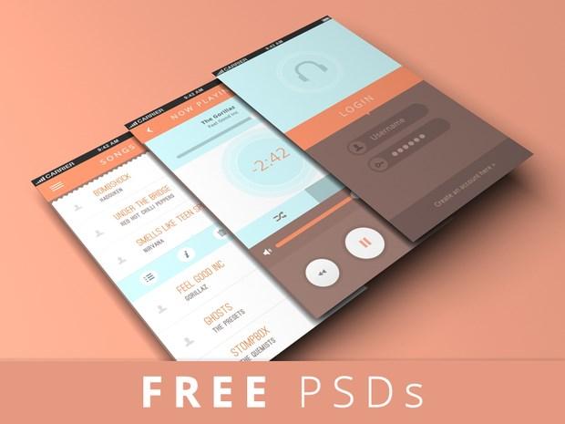 20 great PSD mockups for app designers