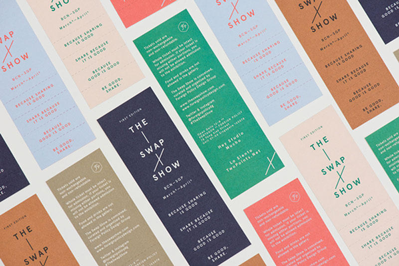 A collection of well-designed event tickets