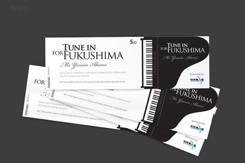 Concert ticket design 5973828 - som300info - concert tickets design