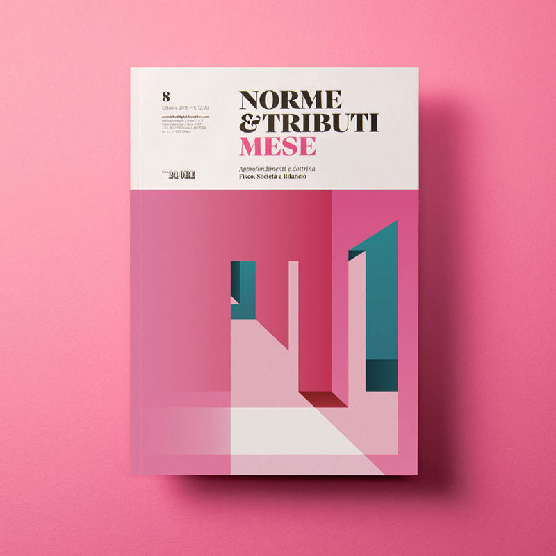 An Italian Economic Revue features better cover designs than most