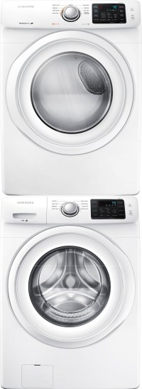 Samsung WF42H5000AW Front Load Washer & DV42H5000EW ...