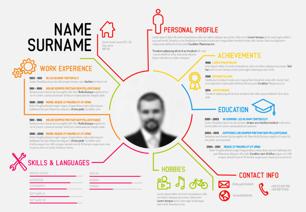 free resume templates for ppt