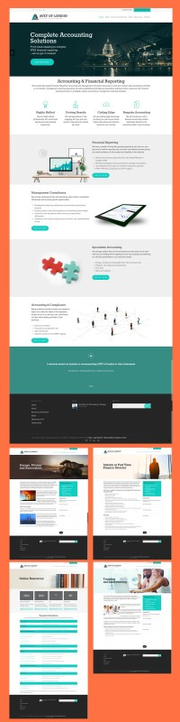Web Design for Accountant Case Study