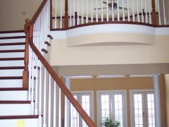 Yorkshire foyer staircase