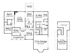 Downing floor plan