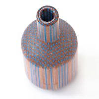 Vases created from hundreds of pencils by Studio Markunpoika
